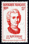 Postage stamp France 1956 Jean Jacques Rousseau, Philosopher — Stock Photo