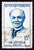 Postage stamp France 1958 Charles Nicolle, French Physicians — Stock Photo