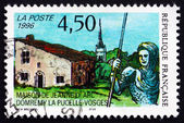 Postage stamp France 1996 Joane of Arc's House — Stock Photo
