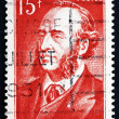 Postage stamp France 1951 Jules Ferry, Statesmand Republican — Stock Photo #28491041