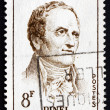 Stockfoto: Postage stamp France 1958 Dr. Philippe Pinel, Physician