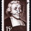 Postage stamp France 1951 JeBaptiste de lSalle, Educator — Stock Photo #28492161
