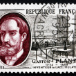 Stock Photo: Postage stamp France 1957 Gaston Plante, Physicist