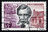 Postage stamp France 1963 Emile Verhaeren, Belgian Poet — Stock Photo