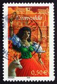 Postage stamp France 2003 Esmeralda, from Notre Dame de Paris — Stock Photo