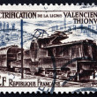 Postage stamp France 1955 Electric Train — Stock Photo #28901533