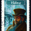 Postage stamp France 2003 Character from French Literature — Stock Photo