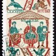 Stock Photo: Postage stamp France 1987 William Conqueror