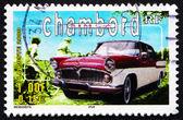 Postage stamp France 2000 Simca Chambord, Automobile — Stock Photo