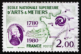 Postage stamp France 1980 Larochefoucauld Liancourt — Stock Photo