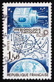 Postage stamp France 1983 National Weather Forecasting — Stock Photo