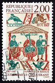 Postage stamp France 1987 William the Conqueror — Stock Photo