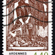 Stock Photo: Postage stamp France 1995 Forestry Profession