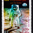 Stock Photo: Postage stamp France 2000 Mon Moon