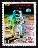 Postage stamp France 2000 Man on the Moon — Stock Photo