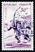 Postage stamp France 1956 Rugby, Team Sport — Stock Photo