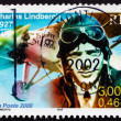Postage stamp France 2000 Charles Lindbergh, Aviator — Stock Photo