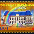 Postage stamp France 2000 Bretagne Parliament — Stock Photo