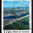 Postage stamp France 1998 Bay of Somme, Picardy — Stock Photo
