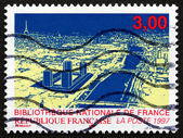 Postage stamp France 1996 New National Library of France — Stock Photo