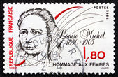 Postage stamp France 1986 Louise Michel, Anarchist — Stock Photo