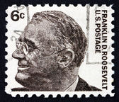 Postage stamp USA 1966 Franklin Delano Roosevelt — Stock Photo