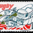 Stock Photo: Postage stamp France 1982 Rugby, Team Sport