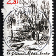 Stock Photo: Postage stamp France 1986 Scene from Le Grand Meaulnes