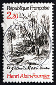 Postage stamp France 1986 Scene from Le Grand Meaulnes — Stock Photo