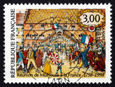 Postage stamp France 1998 Union of Mulhouse with France — Stock Photo