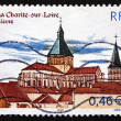 Postage stamp France 2002 View of La Charite-sur-Loire — Stock Photo
