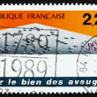 Postage stamp France 1989 Braille Tactile Writing System — Stock Photo #29945907