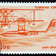 Postage stamp France 1985 CAMS-53 Seaplane — Stock Photo #29955061