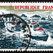 Stock Photo: Postage stamp France 1974 SeRescue
