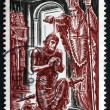 Postage stamp France 1966 Baptism of Clovis, 496 A.D. — Stock Photo #29962819