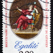 Postage stamp France 1989 Equality, Declaration of Rights — Stock Photo