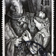 Postage stamp France 1983 Illustration from Perrault's Folk Tale — Stock Photo