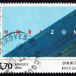 Postage stamp France 1996 Horizon, Photograph by Jan Dibbets — Stock Photo
