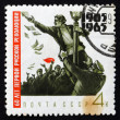 Stock Photo: Postage stamp Russi1965 Soldier Attacking Distributor of handb