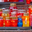 Votive candle — Stock Photo