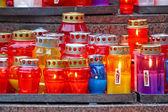вотивные свечи — Стоковое фото
