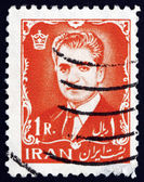 Postage stamp Iran 1962 Mohammad Reza Shah Pahlavi — Stock Photo