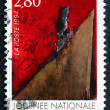 Postage stamp France 1994 National Drug Addiction Prevention Day — Stock Photo