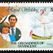 Postage stamp St. Vincent Grenadines 1980 Royal Couple — Stock Photo