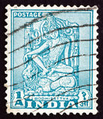 Postage stamp India 1950 Bodhisattva, Enlightenment Being — Stock Photo