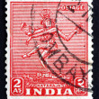 Postage stamp India 1949 Nataraja, the Lord of Dance — Stock Photo
