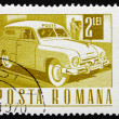 Postage stamp Romania 1968 Mail Truck — Stock Photo