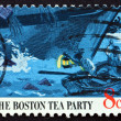 Postage stamp USA 1973 Boats and Ship's Hull — Stock Photo