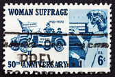 Postage stamp USA 1970 Suffragettes, 1920 and Voter, 1970 — Stock Photo