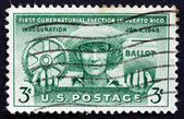 Postage stamp USA 1961 Puerto Rican Farmer — Stock Photo